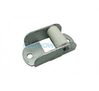 Bandgeleider zonwering 18mm met enkele rol