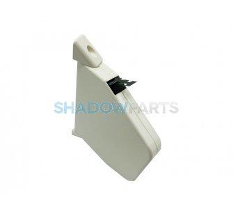 Siral bandopwinder klein voor 14mm rolluikband crème wit