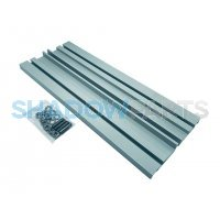 Verlengde aluminium muursteun voor knikarmscherm