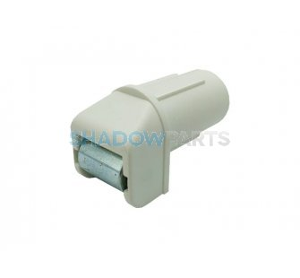 Bandgeleider insteek naaldgelagerd wit