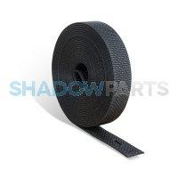 Rolluikband Optrekband 14mm zwart Extra kwaliteit