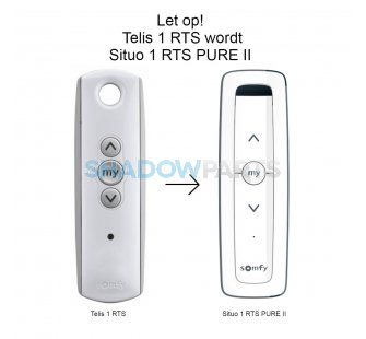 Somfy Situo 1 RTS PURE II (Telis 1)